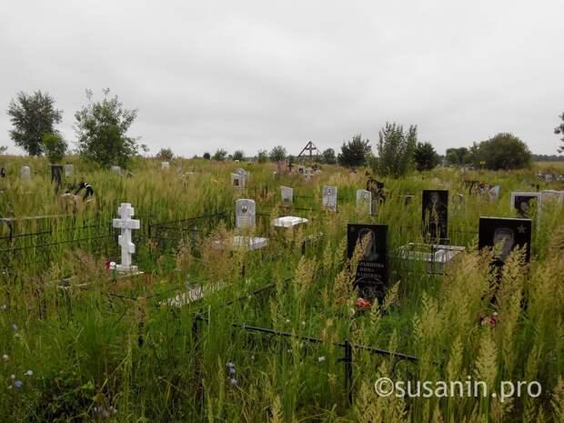 Территорию Кенского кладбища под Ижевском закрыли для свободных захоронений