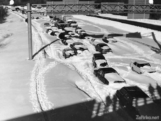 6 самых больших автомобильных пробок в истории