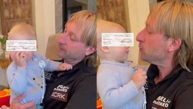 Плющенко очаровал поклонников трогательным видео с младшим сыном