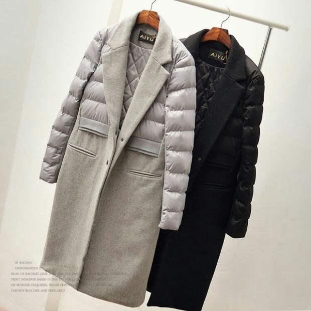 Пальто из куртки?