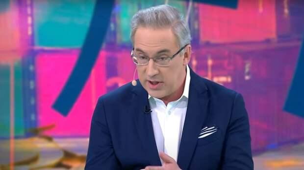 Норкин рассмешил студию анекдотом про Маугли во время обсуждения заявления Путина о Западе