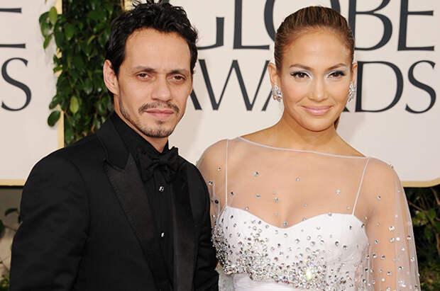 Инсайдер: после расставания с Алексом Родригесом Дженнифер Лопес нашла поддержку у бывшего мужа Марка Энтони