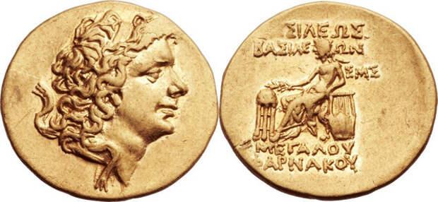 Золотой статер. Фарнак, 63-47 годы до н.э.