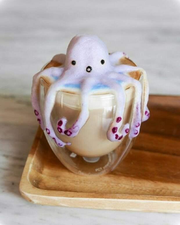 Кофейные зверушки из пены (подборка)