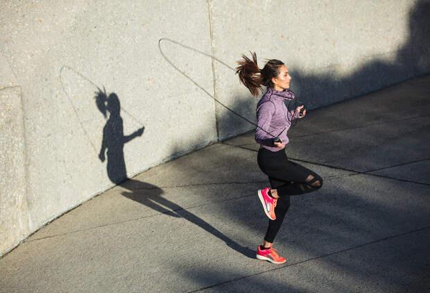 прыжки на скакалке для похудения польза