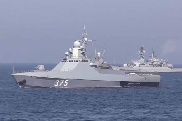 В одном строю с НАТО: как прошли манёвры с участием российского флота