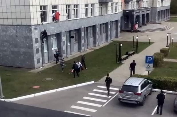 Напавшего на учащихся университета в Перми задержали