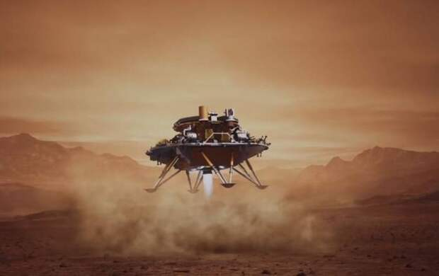 Новый успех китайской космонавтики: Аппарат «Тяньвэнь-1» успешно сел на поверхность Марса