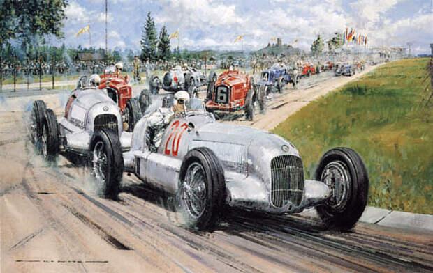 Как появились первые серебристые автомобили mercedes, авто