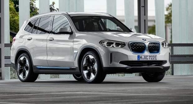 BMW выпустил новый рекламный ролик электрокара iX3