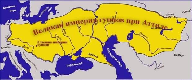 Гунны на максималках -ничто не может остановить ни гуннов, ни полет желтой краски по карте Евразии.