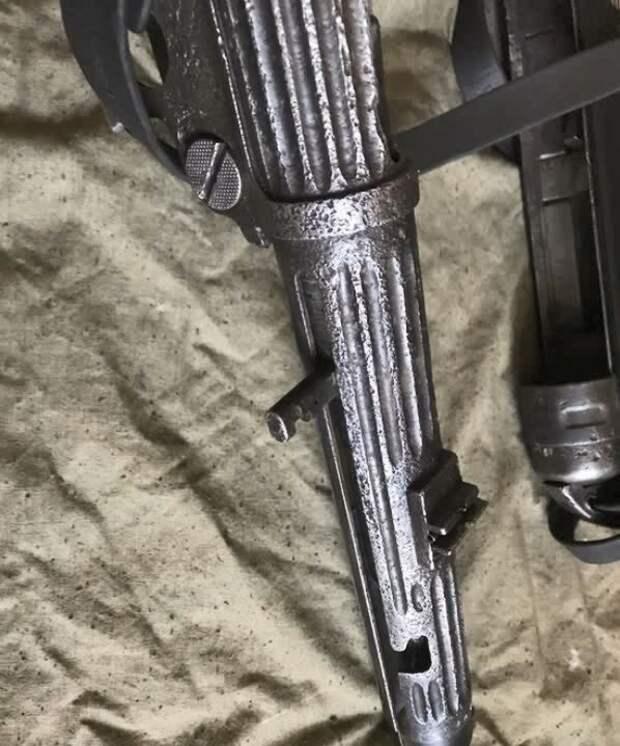 ПИСТОЛЕТ-ПУЛЕМЕТ МР-38. Был продан на аукционе за 83 123 руб.