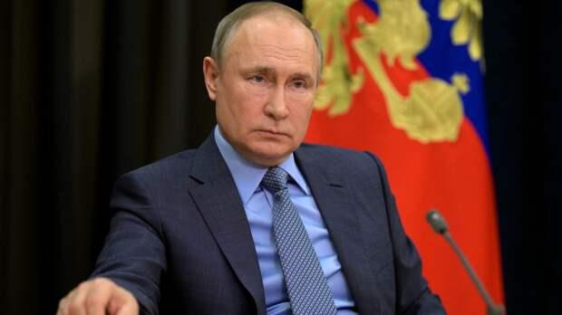 Путин призвал остановить насилие с обеих сторон палестино-израильского конфликта