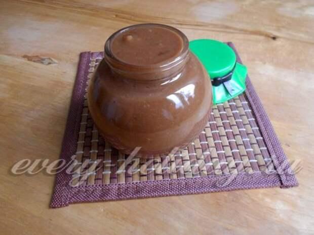 Шоколадная паста без шоколада