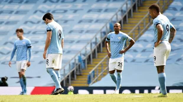«Манчестер Сити» потерпел поражение от «Лидса», игравшего в меньшинстве