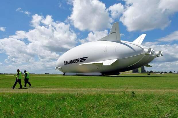 Обновленный Airlander 10: как выглядит самое большое воздушное судно в мире