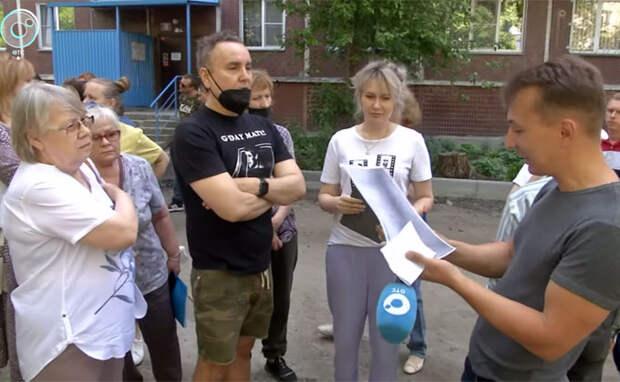 Канадец вступился за деревья во дворах на улице Челюскинцев в Новосибирске