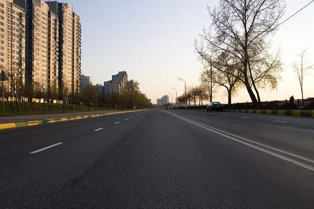 Дороги к новым домам по реновации в Хорошево-Мневниках расширят