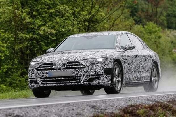 Ума палата: новая Audi A8 окажется не в меру самостоятельной