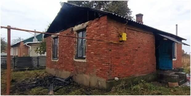 В н.п. Новоалександровка в время пожара в жилом доме погибли два брата