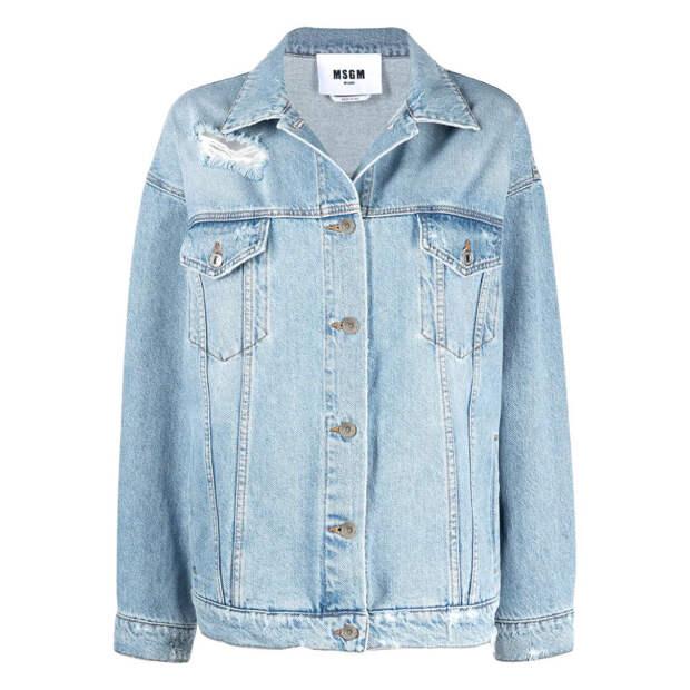 Как и с чем носить джинсовую куртку в этом сезоне