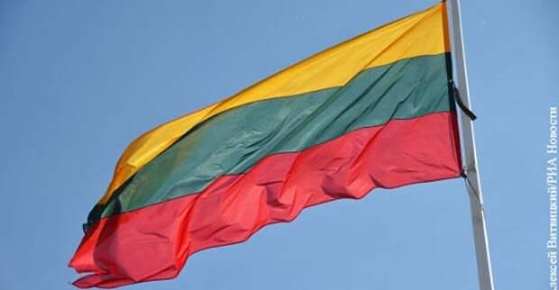 Флаги Литвы вывесили в Тель-Авиве вместо флагов ЛГБТ