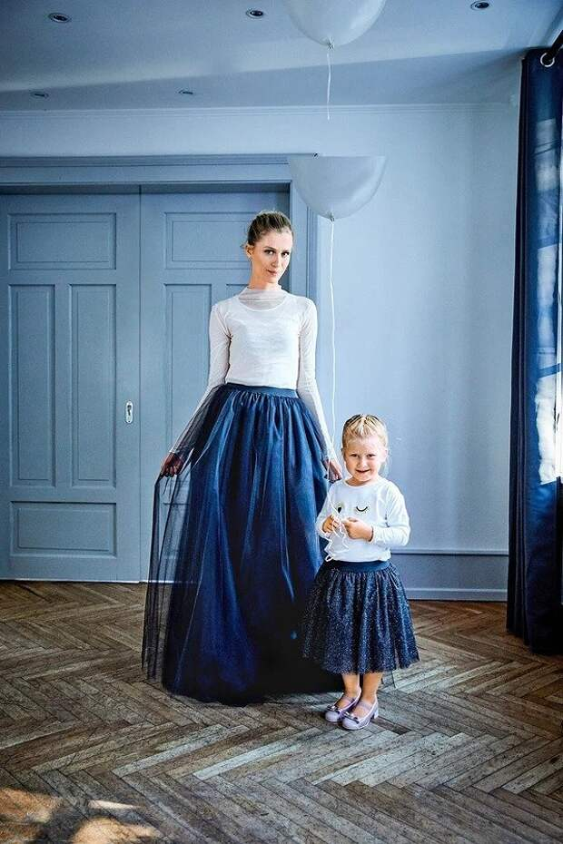 Как сшить юбку из тюля в балетном стиле