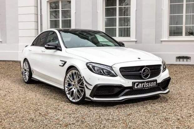 Carlsson не для малышей: Mercedes-AMG C 63 S наводит ужас