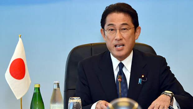 Министр иностранных дел Японии Фумио Кисида. Архивное фото