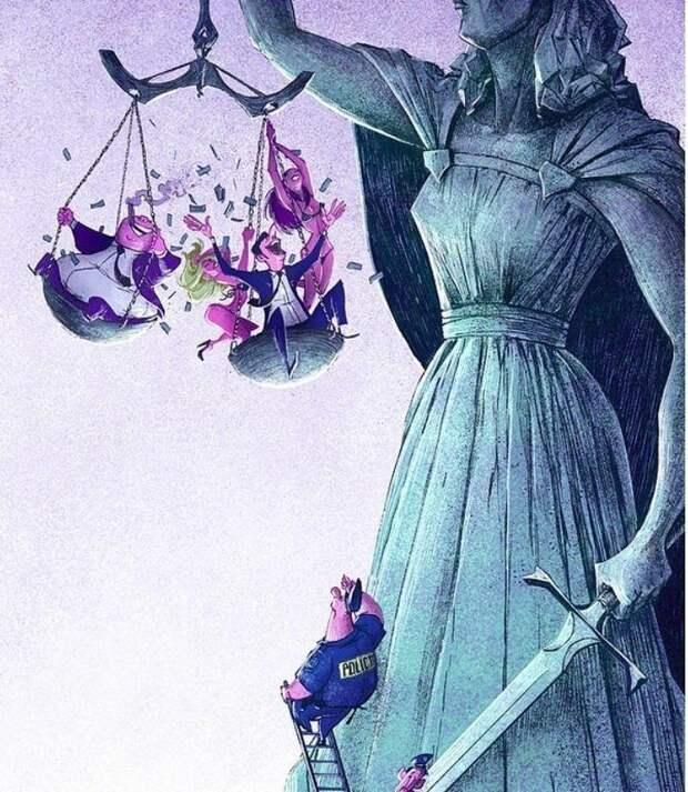 Закон как способ закрепления справедливого и несправедливого