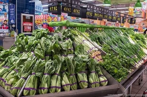 Чем питаются китайцы: супермаркет в Поднебесной