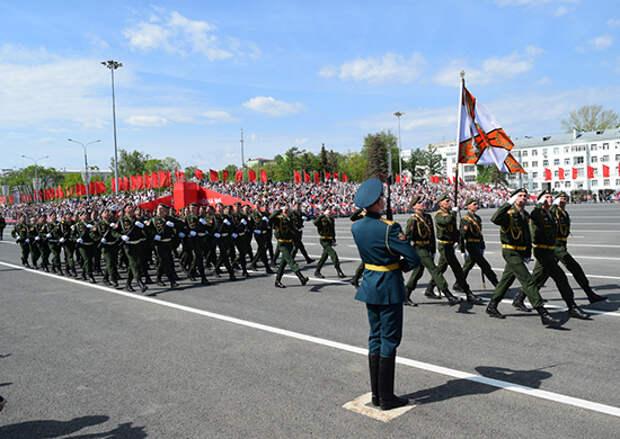 На центральной площади Самары состоялся Парад Победы