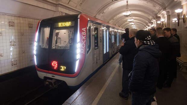 В московском метро начался парад поездов