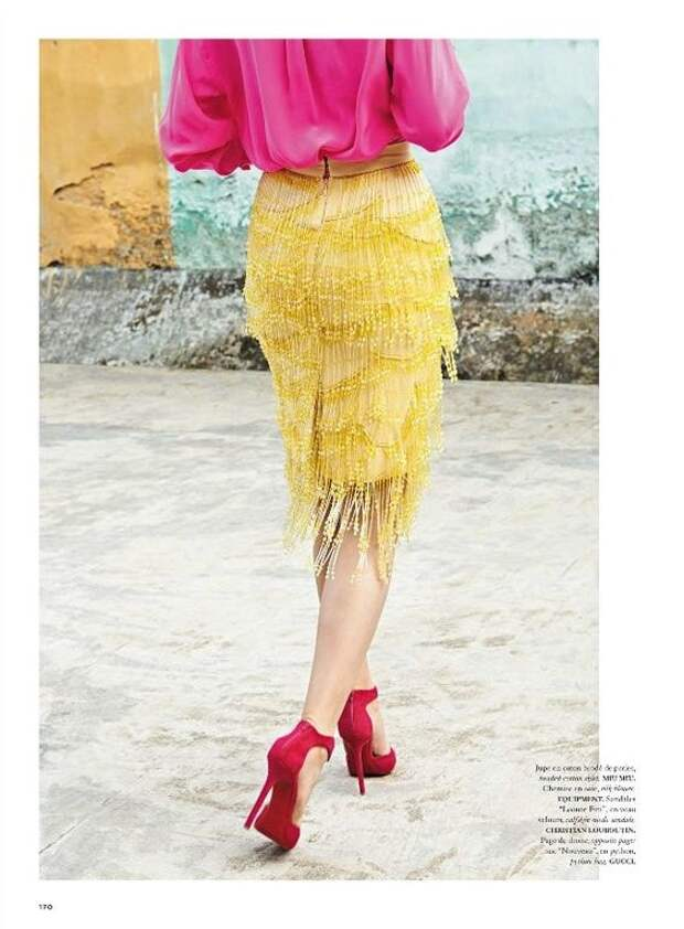 Элегантные юбки с бахромой разной длины