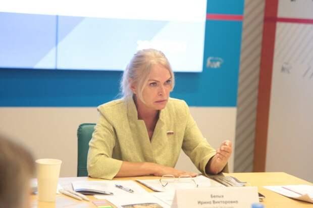 Депутат ГД Ирина Белых: «При реализации программы реновации нужно идти на шаг впереди». Фото: Андрей Дмытрив