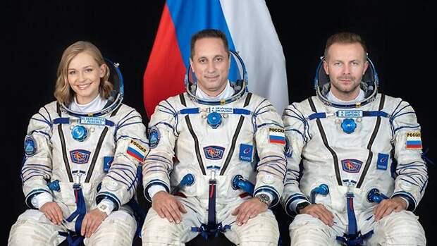 «Открыла в себе реквизитора»: Пересильд освоила новую профессию в космосе