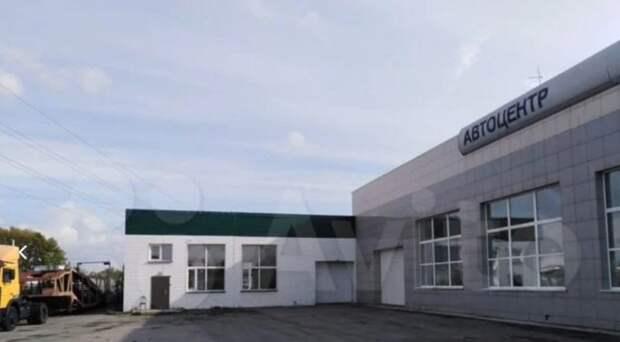 В Ленинском районе Новосибирска выставили на продажу автосалон
