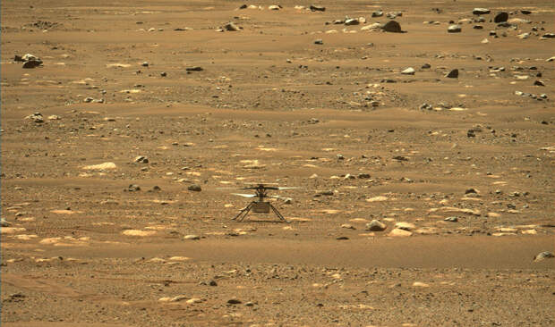 Первый полёт на Марсе