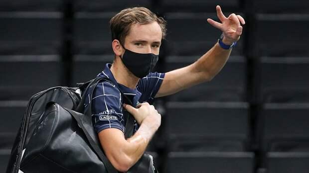 Рублев: «У Медведева очень большие шансы выиграть Итоговый турнир, чего ему и желаю»