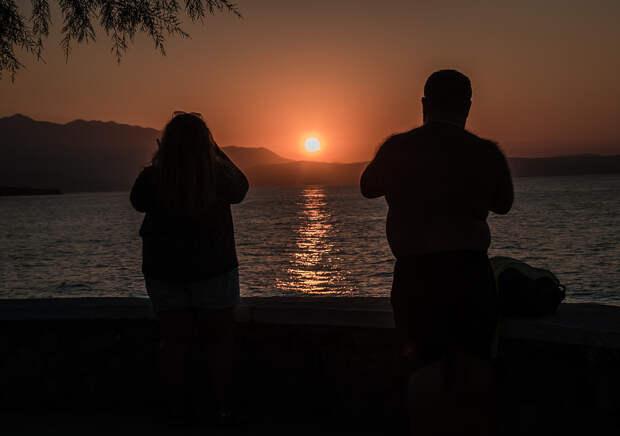 Rethymno. Sunset#4 by 128elen on 500px.com
