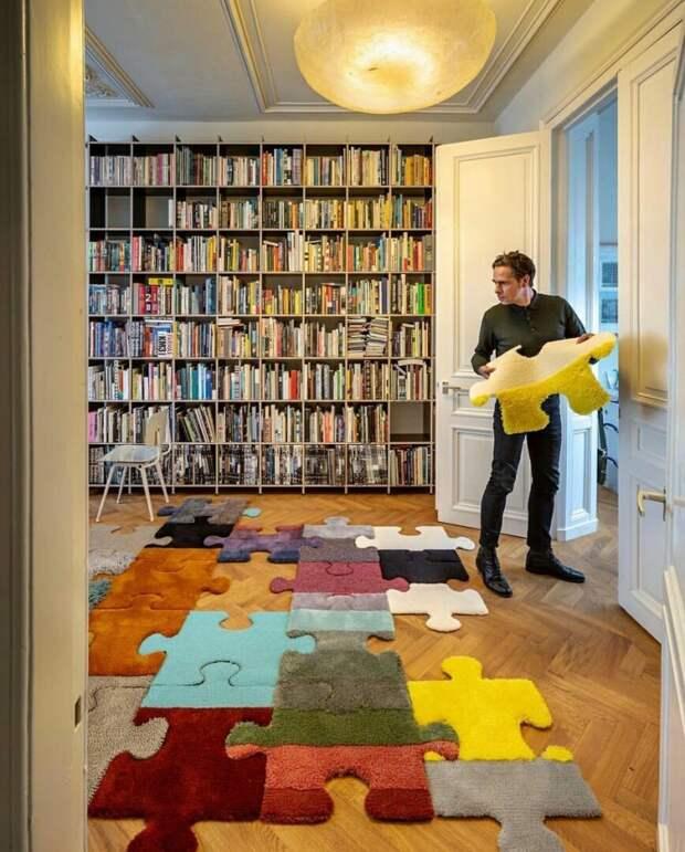 Идея для коврика