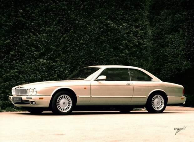 И его наследник Jaguar XJC X300 авто, автодизайн, автомобили, дизайн, фотомонтаж, фотошоп, юмор, янгтаймер