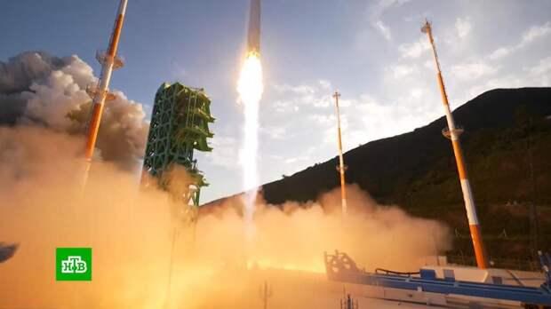 Первая южнокорейская ракета Nuri не смогла вывести макет спутника на орбиту
