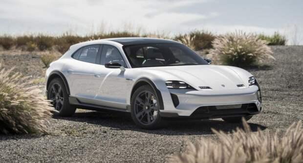Porsche показала эффектную рекламу электрического Taycan Cross