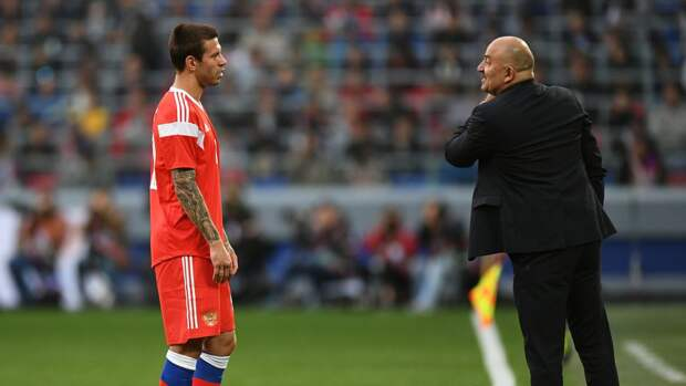 Черчесов объяснил отсутствие Смолова в расширенном составе сборной России на Евро-2020