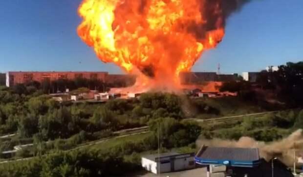 35 человек пострадали напожаре нагазовой АЗС вНовосибирске