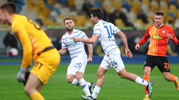 Киевское «Динамо» впервые с 2018 года победило «Шахтёр» в чемпионате Украины