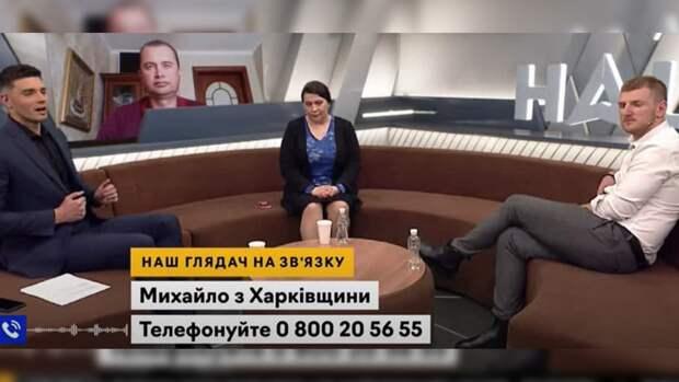 Украинец в прямом эфире призвал бороться за российскую вакцину