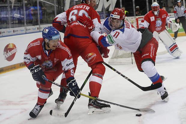 Сборная России проиграла чехам в заключительном матче Евротура