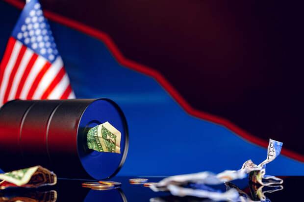 Нефть резко подешевела из-за США